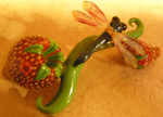 Strawberry Dragonfly Bubbler